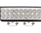 "11"" Dual Row Heavy Duty UV LED Light Bar - 54W, 380nm"