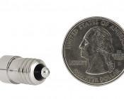 1 Watt Flashlight Bulb: Back View