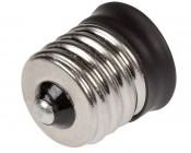 E12 Base to E17 Base Socket Adapter