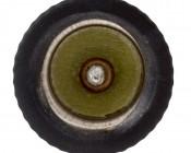 E14 Base to E12 Base Socket Adapter: Front View