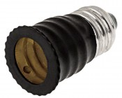 E14 Base to E12 Base Socket Adapter