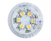E27 LED Compact and Low Profile - 6W: Front View