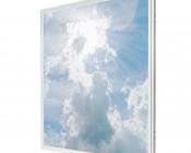 Even-Glow LED Panel Light - Sun Beams LUXART Print - 2' x 2'