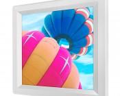 LED Skylight - 1x1 Dimmable Even-Glow® LED Panel Light - Balloon 1 - Flush Mount