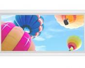 LED Skylight - 1x2 Dimmable Even-Glow® LED Panel Light - Balloon 1 - Flush Mount