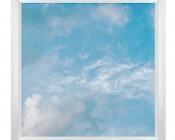 LED Skylight w/ Summer Skylens® - 2x2 Dimmable LED Panel Light - Flush Mount/Drop Ceiling Recessed Mount