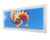 LED Skylight - 1x2 Dimmable Even-Glow® LED Panel Light - Balloon 2 - Flush Mount