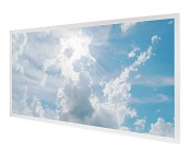 Tunable White LED Skylight - 2x4 Dimmable Even-Glow® LED Panel Light w/ SkyLens® - Sun Beams - Drop Ceiling Recessed Mount