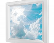 LED Skylight - 1x1 Dimmable Even-Glow® LED Panel Light - Sun Beams - Flush Mount
