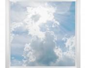 LED Skylight w/ Sun Beams Skylens® - 2x2 Dimmable LED Panel Light - Flush Mount/Drop Ceiling Recessed Mount