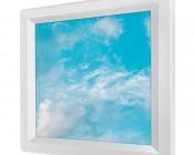 LED Skylight - 1x1 Dimmable Even-Glow® LED Panel Light - Summer Sky - Flush Mount