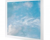 Even-Glow LED Panel Light - Summer Sky LUXART Print - Dimmable - 2' x 2'