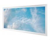 LED Skylight - 2x4 Dimmable Even-Glow® LED Panel Light w/ SkyLens® - Summer Sky - Flush Mount
