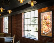 Ultra-Thin LED Light Box Panels w/ Custom-Printed Luxart® Diffuser - Dimmable