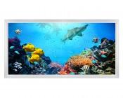 LED Skylight w/ Ocean Life Skylens® - 2x4 Dimmable LED Panel Light - Flush Mount/Drop Ceiling Recessed Mount