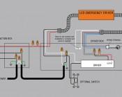 LED Emergency Driver Diagram