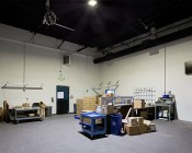 200 Watt LED Explosion Proof Light for Class 1 Division 2 Hazardous Locations - 16,200 Lumens: Installed in Ceiling of Warehouse Receiving Room