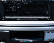 "30"" Off Road LED Light Bar Kit with Spot/Flood Combo Beam - 150W: Shown Installed On F150"