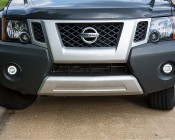 """3-1/2"""" LED Projector Fog Lights Conversion Kit w/ Halo Daytime Running Lights - Toyota/Nissan: Installed in 2015 Nissan Xterra DRL Turned On"""