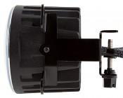 "3-1/2"" LED Projector Fog Lights Conversion Kit w/ Halo Daytime Running Lights - Chrysler/Jeep/Dodge: Profile View"