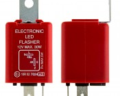 FL2-RED LED Bulb Electronic Flasher: Profile View