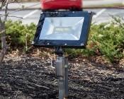50 Watt Knuckle-Mount LED Flood Light - 4000K - 6,000 Lumens