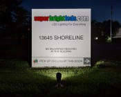 LED Landscape Flood Light w/ Junction Box - 750 Lumens -FLKM-NW10-JB-Illuminating-Sign