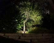 LED Landscape Flood Light w/ Junction Box - 750 Lumens -FLKM-NW10-JB-Installed in Landscape