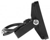 10 Watt LED Flood Light Fixture - Low Profile - 950 Lumens: Profile View