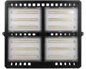 200 Watt LED Flood Light Fixture - Low Profile -  19,000 Lumens: Front View