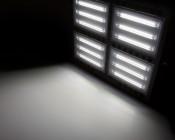 200 Watt LED Flood Light Fixture - Low Profile -  19,000 Lumens: Illuminated