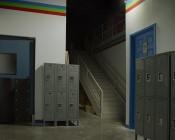 30 Watt LED Flood Light Fixture - Low Profile -  2,850 Lumens: Illuminating Floor