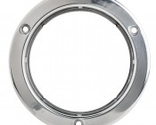 ST series Stainless Steel Flange Mounts: Front View