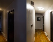 """LED Flush Mount Ceiling Light - 14"""" Round 25W LED Flush Mount Ceiling Fixture: Compared To Incandescent Bulb"""