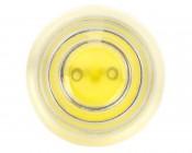 G4 LED Bulb - 1 Watt (15 Watt Equivalent) Bi-Pin LED Bulb - Cool White: Front View.
