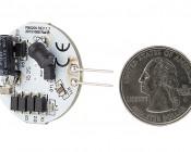 G4 LED Bulb - 2 Watt (20 Watt Equivalent) Bi-Pin LED Disc - White: Back View