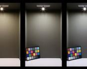 G4 LED Bulb - 9 SMD LED - Bi-Pin LED Disc: Box Shot (Left) Warm White, (Middle) Natural White, (Right) Cool White