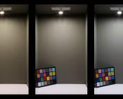 G4 LED Bulb - 2 Watt (20 Watt Equivalent) Bi-Pin LED Disc - White: Box Shot (Left) Warm White, (Middle) Natural White, (Right) Cool White