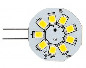 G4 LED Bulb - 2 Watt (20 Watt Equivalent) Bi-Pin LED Disc - White