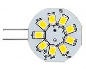 G4 LED Bulb - 9 SMD LED - Bi-Pin LED Disc