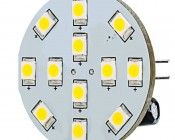 G4 LED Bulb - 12 SMD LED - Bi-Pin LED Disc
