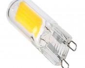 G9 LED Bulb - 25 Watt Equivalent - Bi-Pin LED Bulb - 240 Lumens - Back View