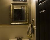 G9 LED Bulb - 4 LED - 3 Watt Bi-Pin LED Filament Bulb: Installed In Bathroom Light Fixture
