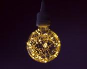 G30/G95 LED Fairy Light Bulbs - 48 Lumens- Single Pendent Light in Warm White