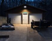 LED Gooseneck Barn Light - 42W - 4000K/3000K - 3,700 Lumens