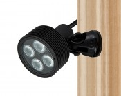 8W LED Landscape Spotlight - Cool White: Wall Mounting
