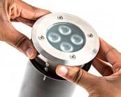 LED In-Ground Well Light - 8 Watt - Install