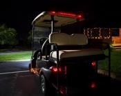 LED Golf Cart Tail Light/Brake Light Extension Kit: Installed on Golf Cart