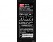 Desktop Power Supply - 24V DC GST Series: Close Up of Label