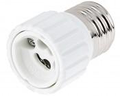 GU10 Base to E27 Base Socket Adapter